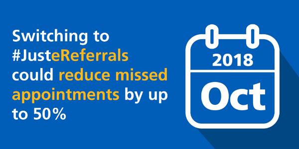 NHS Digital News Bulletin on e-referrals